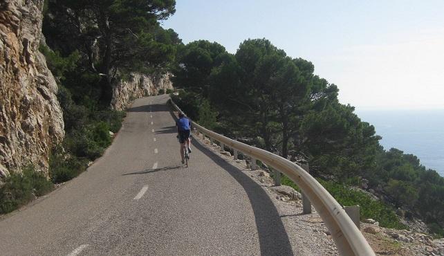Cycling the Cap de Formentor, Mallorca