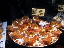 Goats Cheese and Onion Pintxo, San Sebastian