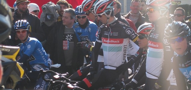 Contador at the Vuelta a Mallorca 2012