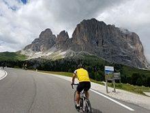 Sella Ronda cycling