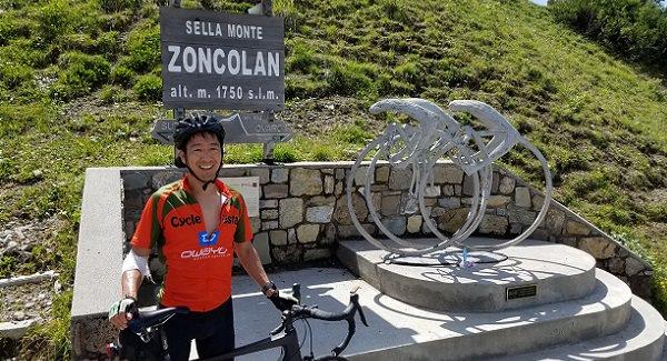 Summit of Monte Zoncolan