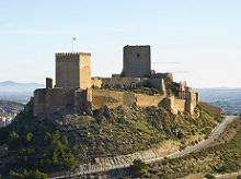 Hotel in Lorca Castle
