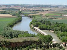 Cycling the Duero River