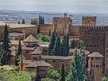 Unusual View of the Alhambra