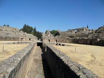 Roman Amphithteatre - Italica