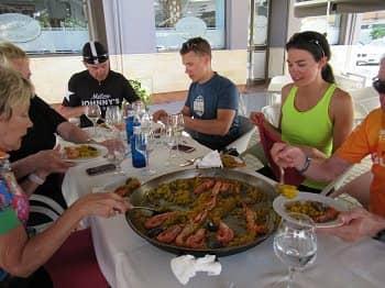 Seafood Paella in Cordoba
