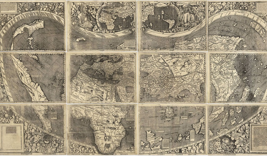 15th Century World Map