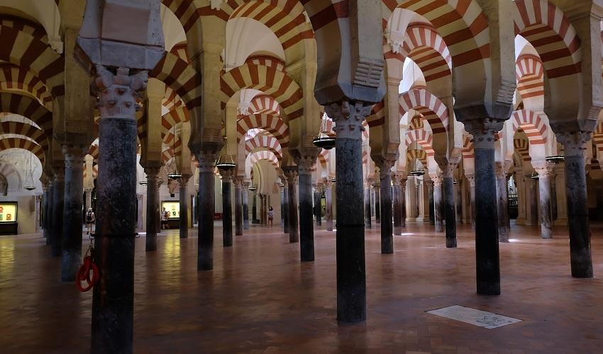 Inside La Mezquita