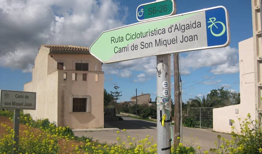 Cycle Route Sign - Mallorca