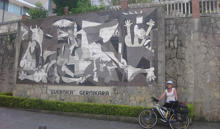 Wall Mosaic in Gernika
