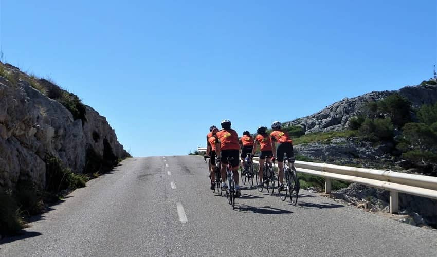 Cycling in Mallorca in Spring