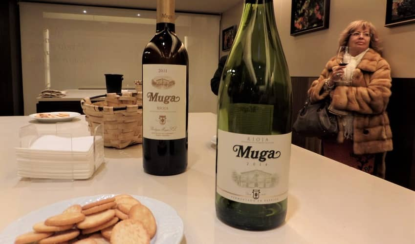 Wine Tasting in Muga bodega