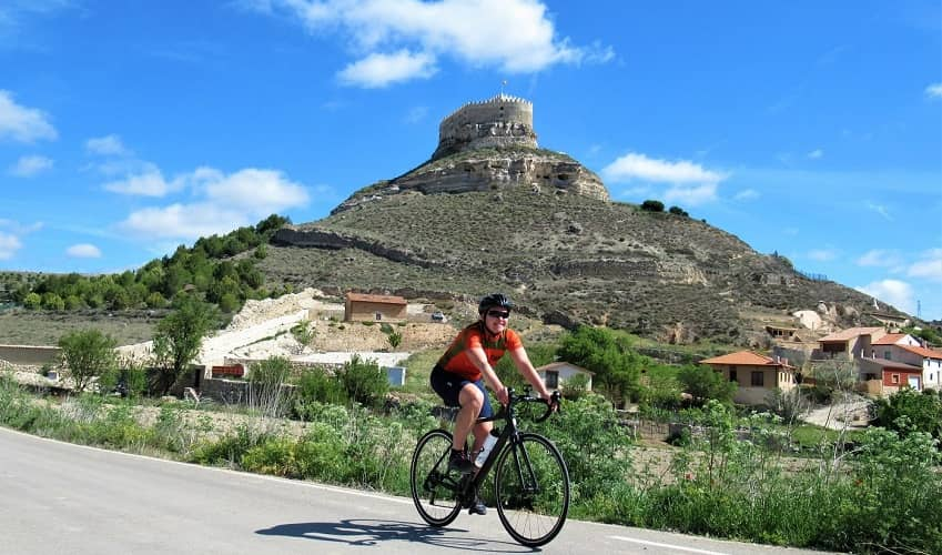 Cycling in Ribera del Duero Wine Country
