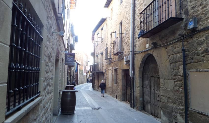 Medieval Streets of Laguardia