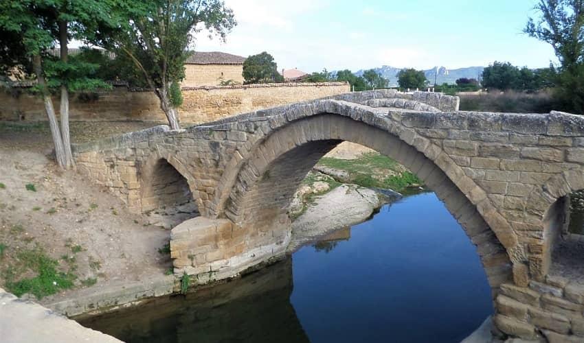 Roman Bridge in Rioja