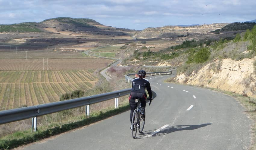Cycling Rioja in Winter