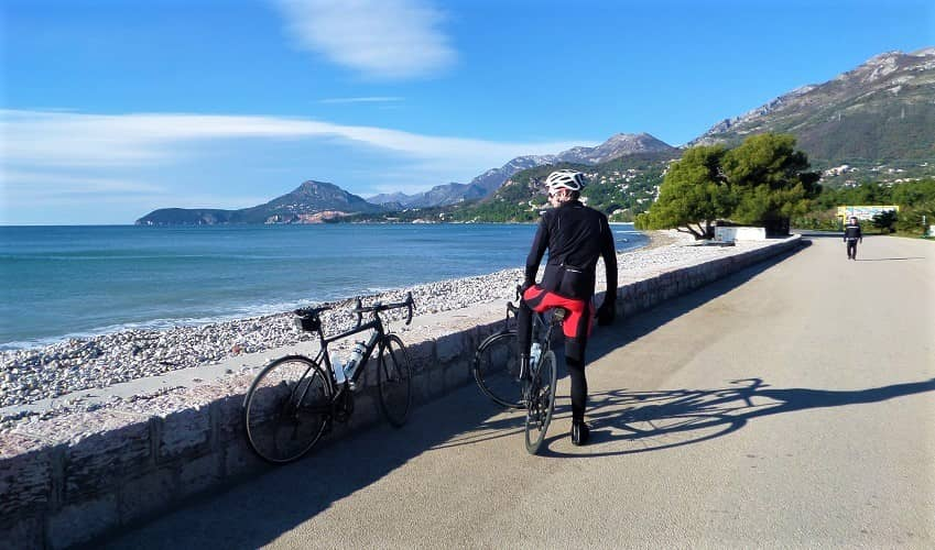 Touring on a Road Bike