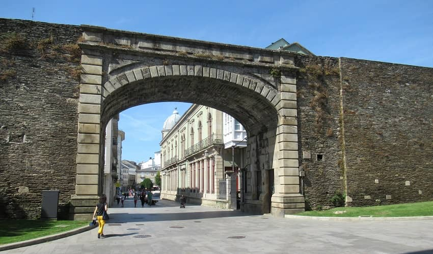 Roman Wall - Lugo