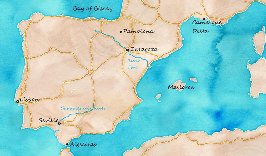 Map of Viking Raids