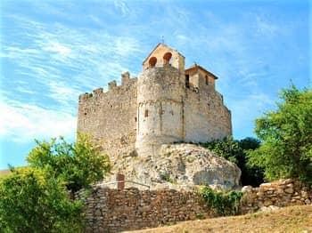 Calafell Castle, Catalonia