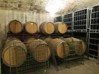 Cava Wine Barrels
