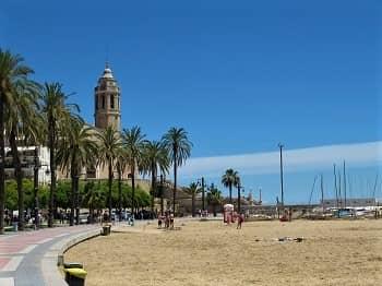 Sitges Beach, Catalonia