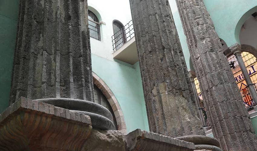 Barcelona Temple of Augustus