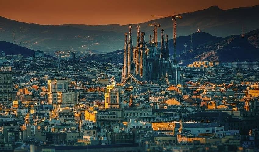 Barcelona Sagrada Familia Church