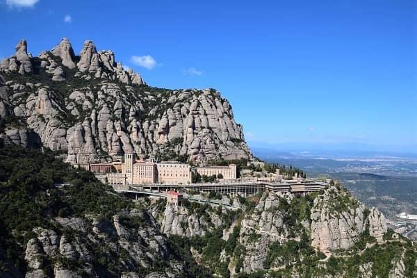 Spectacular views of Montserrat