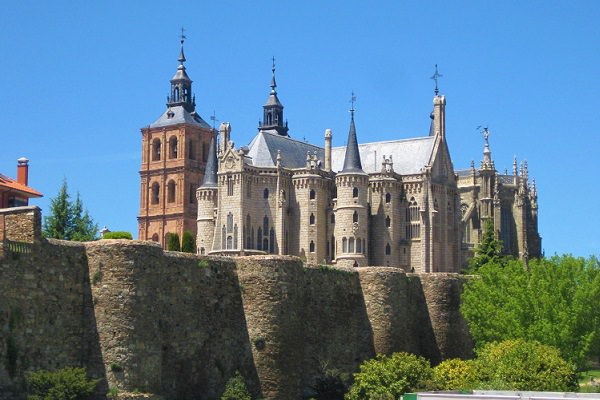 Episcopal Palace, Astorga - Designed by Gaudi