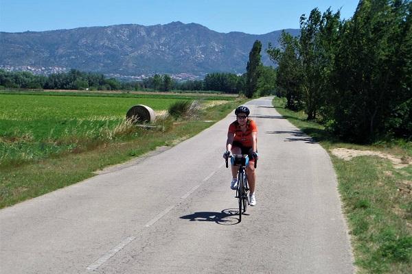 Cycling around Girona