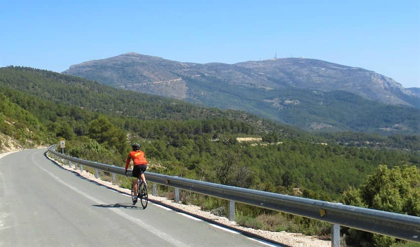 The Best Cycling Routes around the Costa Blanca Spain Cycle Fiesta