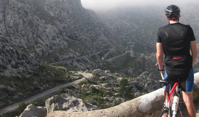 Another hairpin bend on Sa Calobra