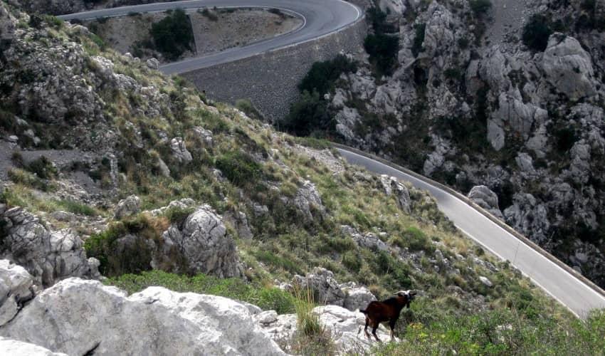 Sa Calobra Climb, Mallorca