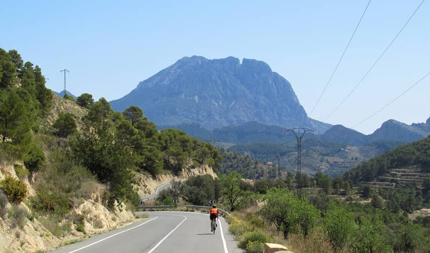 Port de Tudons/> While Coll de Rates may be the most accessible and popular climb, Port de Tudons is the longest and the one most resembling what you would find in the Alps or the <a href=
