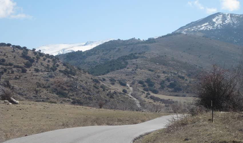 Pico de Veleta from Monachil