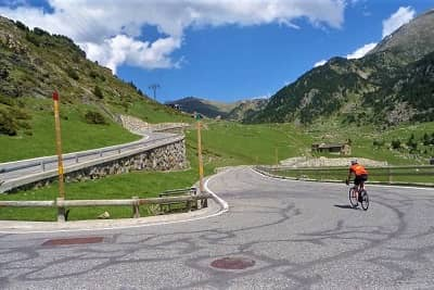 Spanish Pyrenees Cycling Climbs