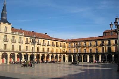 Leon Plaza Mayor Cycling Routes
