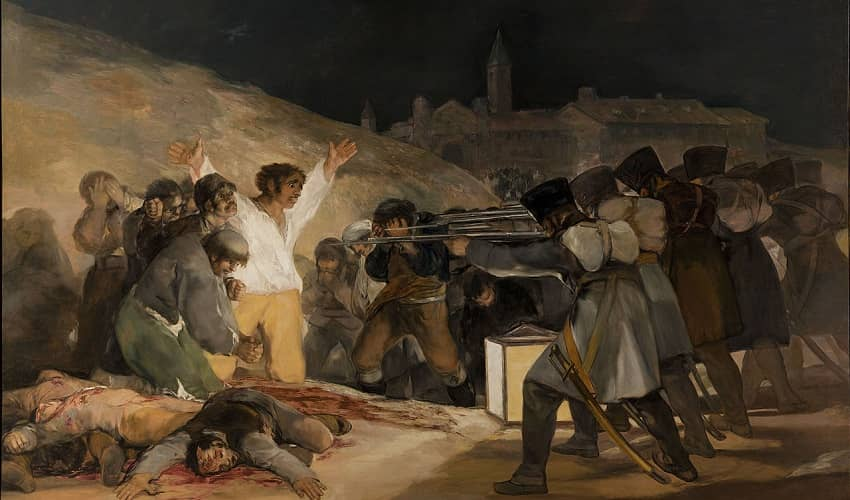 Goya Artwork in the Prado Museum