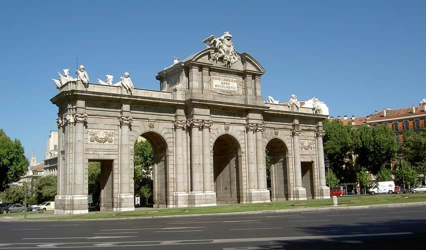 Arch Cibeles - Madrid