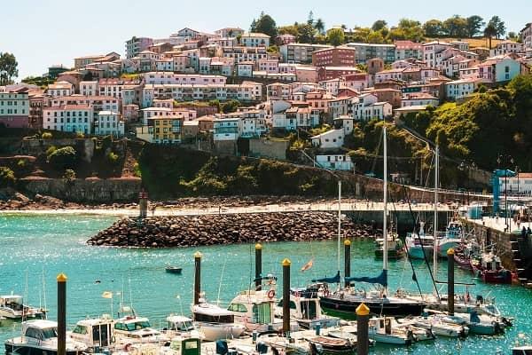 Coastal village of Lastres