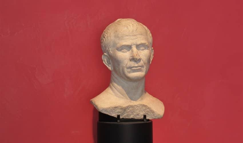Arles - Julius Caesar Bust