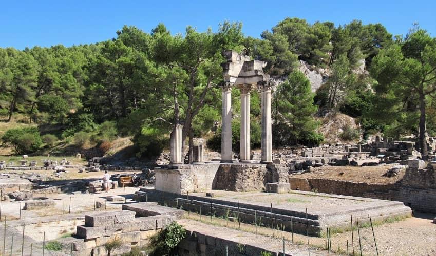 Glanum Temple of Augustus