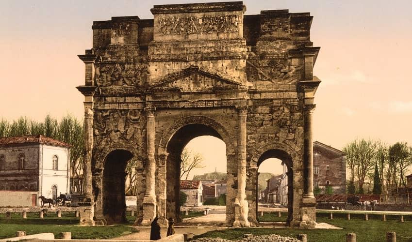 Triumphal Arch - Orange