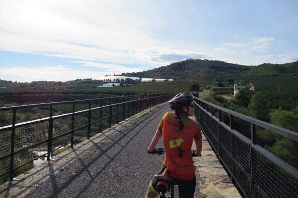 Off road cycle route - Provence
