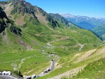 Tourmalet during Tour de France
