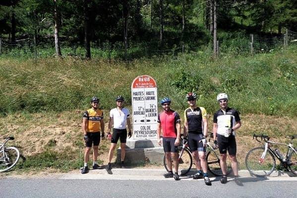 Top of the Col de Peyresourde