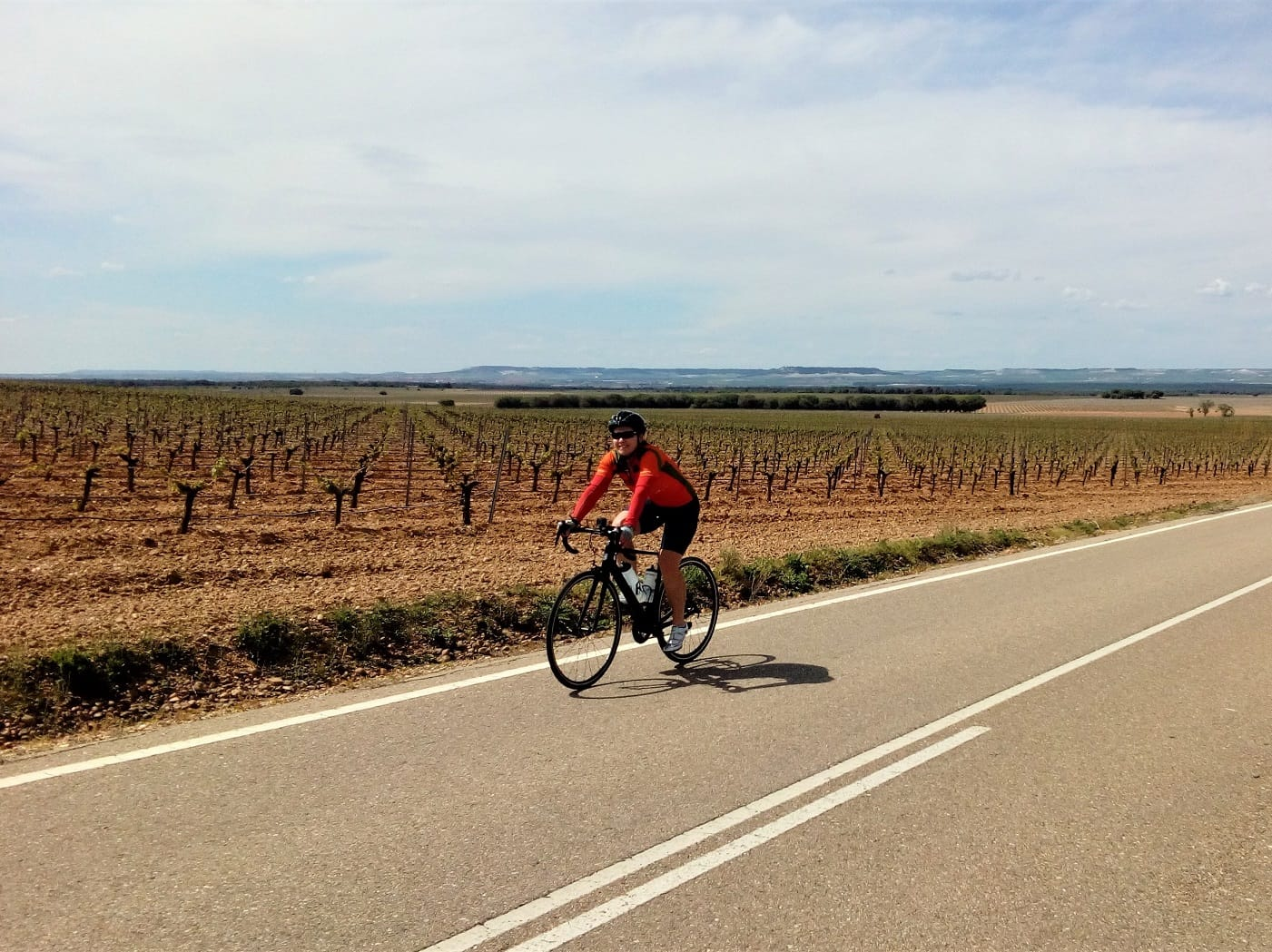 Cycling in Rueda Wine Region
