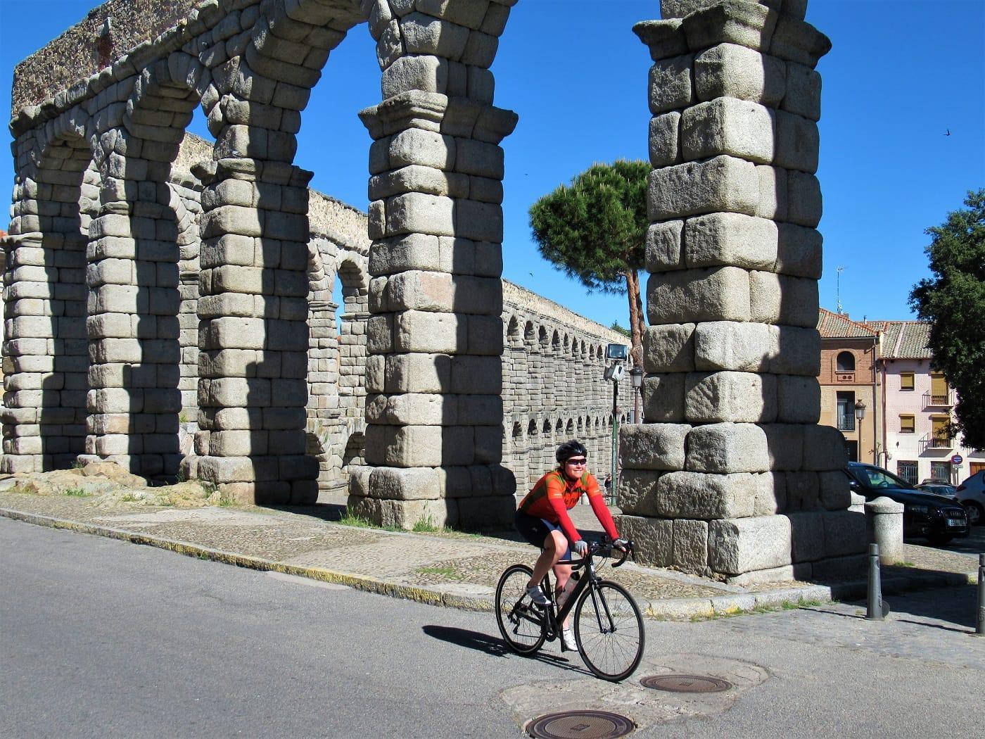 Segovia Aqueduct Cycling
