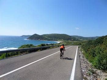 Alghero Coastal Road Cycling